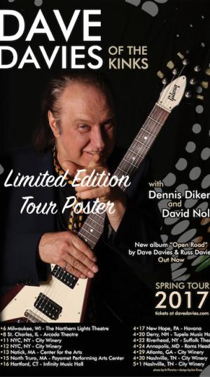 Dave Davies - US Tour 2017