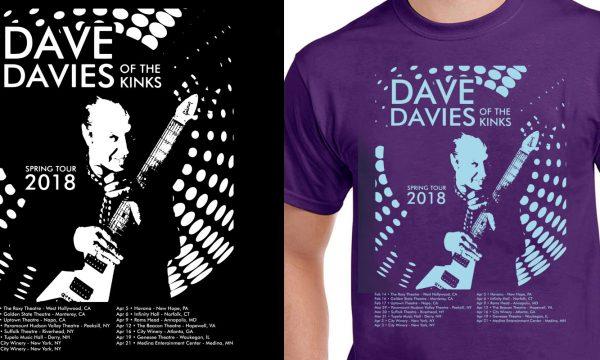 Dave Davies - 2018 Tour