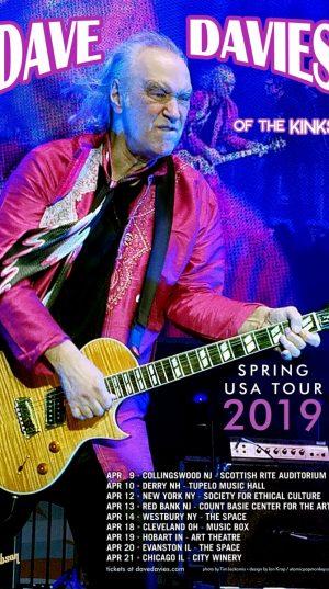 Dave Davis -  US Tour 2019