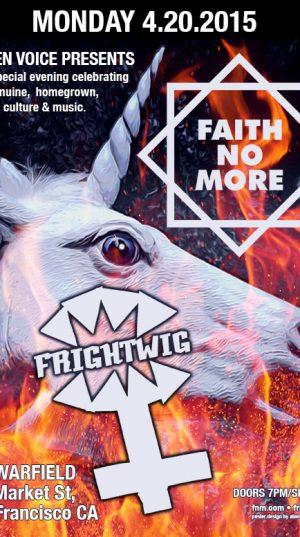 Faith No More & Frightwig - 2015
