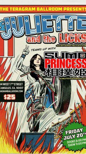 Juliette Lewis & Sumo Princess