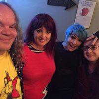 Jon Krop & Barb Orr with Abby Travis & Jane Weidlin