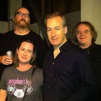 Jon Krop & Barb Orr with Brian Posehn & Bob Odenkirk